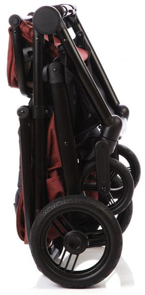 коляска каррелло соната с резиновыми колесами